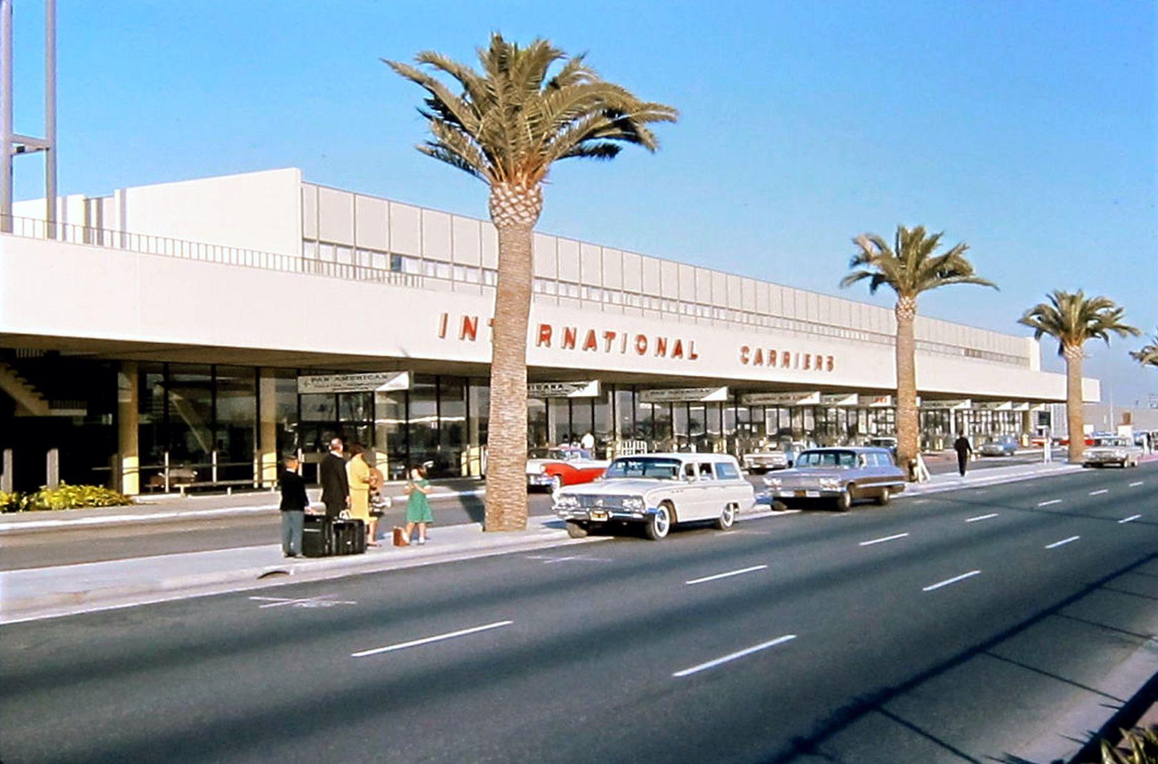 Lax In 1964 Bizarre Los Angeles Los Angeles International Airport Los Angeles Area Los Angeles History