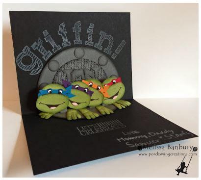 Project Teenage Mutant Ninja Turtles Card Teenage Mutant Ninja Turtles Cards Ninja Turtle Birthday Cool Birthday Cards