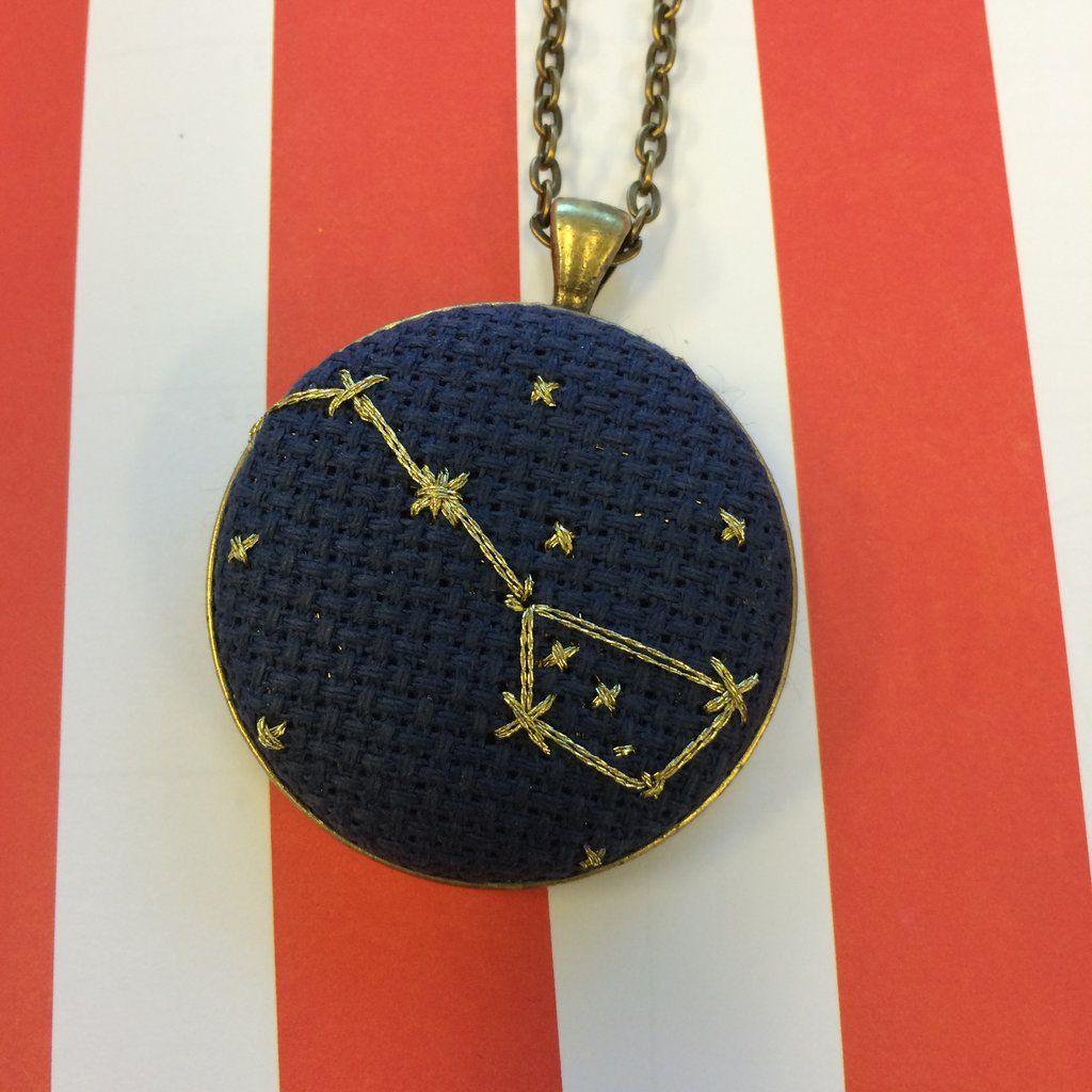 Big dipper constellation necklace in 2020 constellation