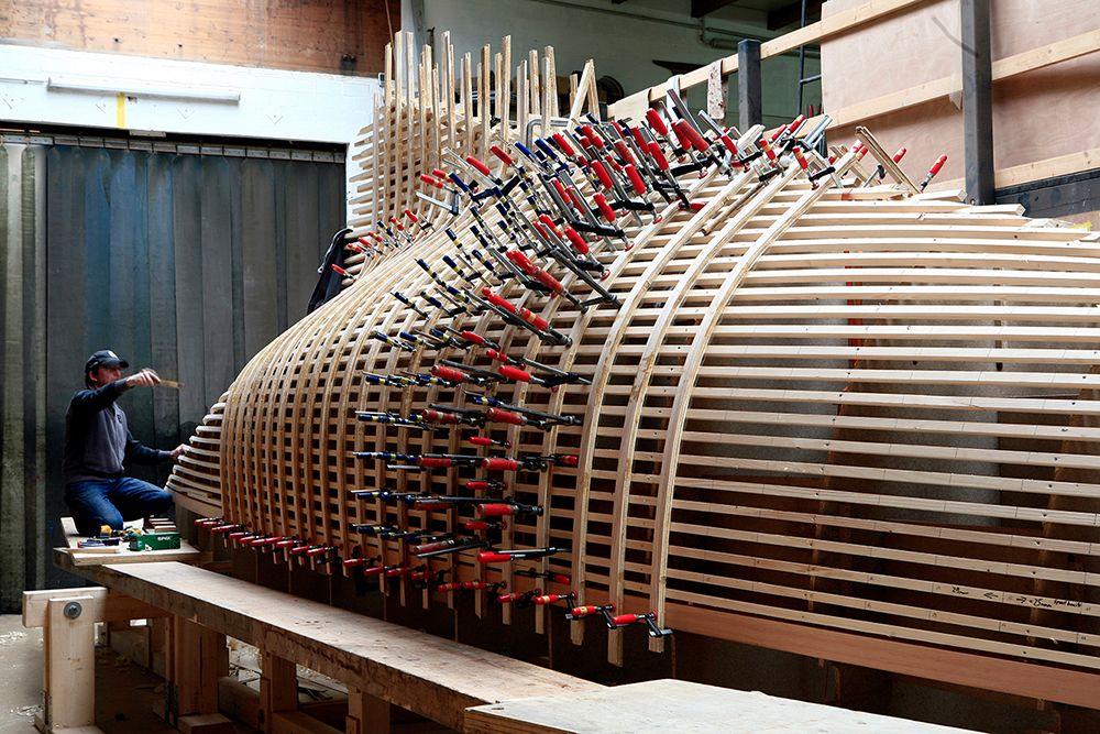 Wooden Boat Build | Botes | Pinterest | Wooden boat building, Boat ...