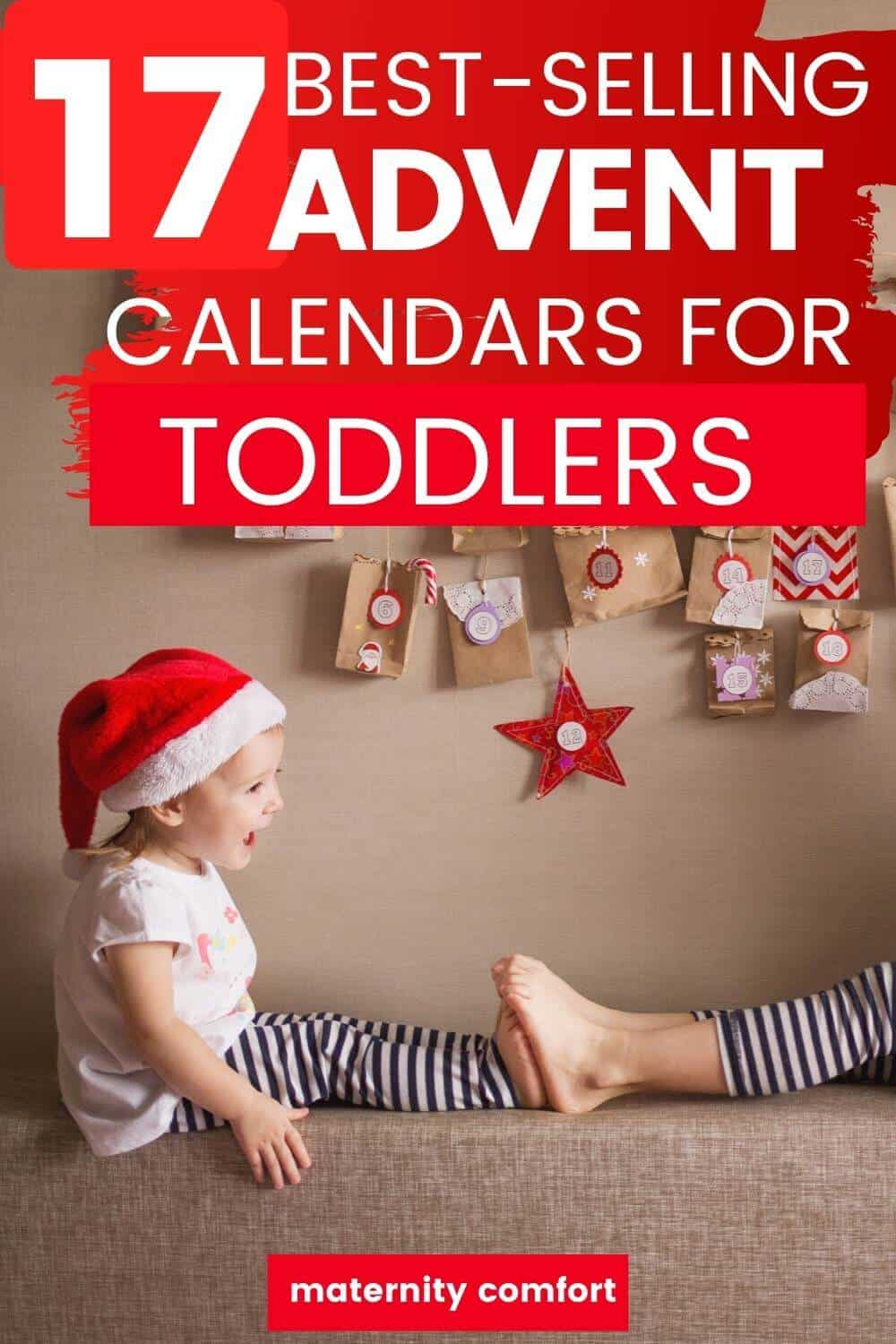 2020 Christmas Candy Countdown Calendar Non candy Christmas Advent Calendars For Toddlers, DIY Advent