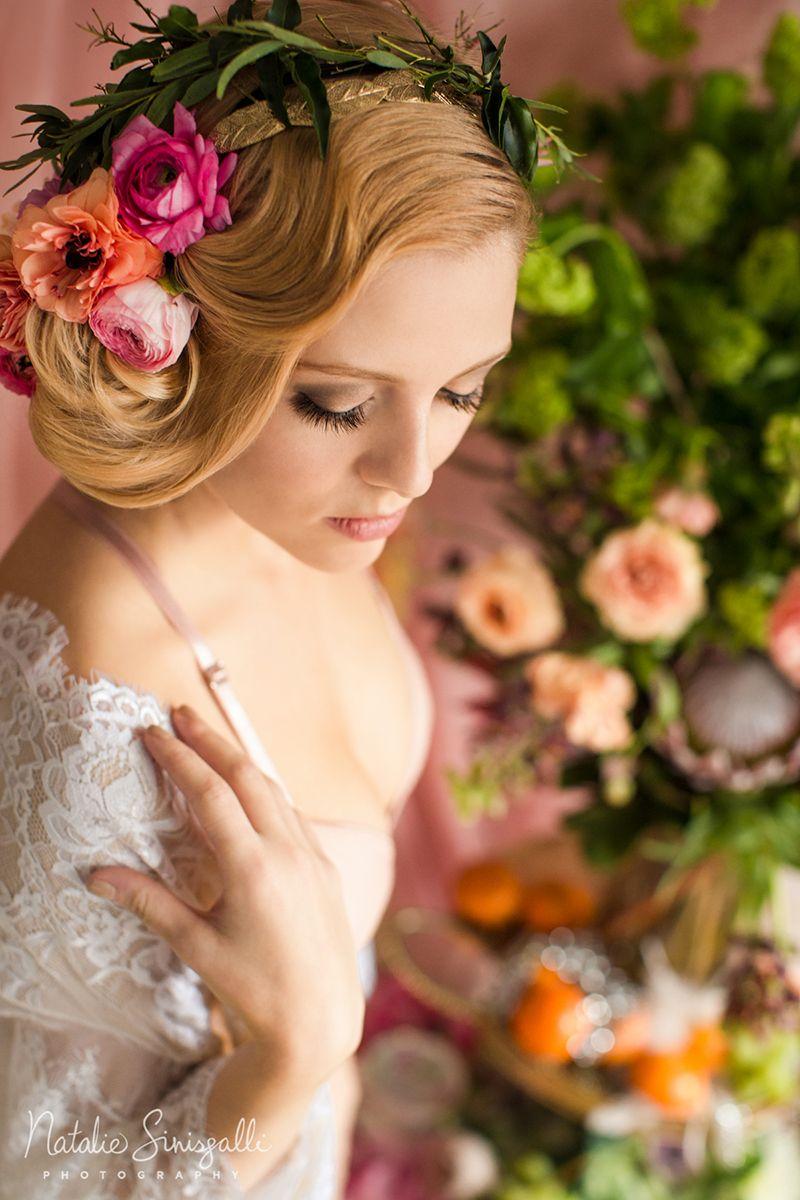 boudoir photography rochester new york | floral boudoir