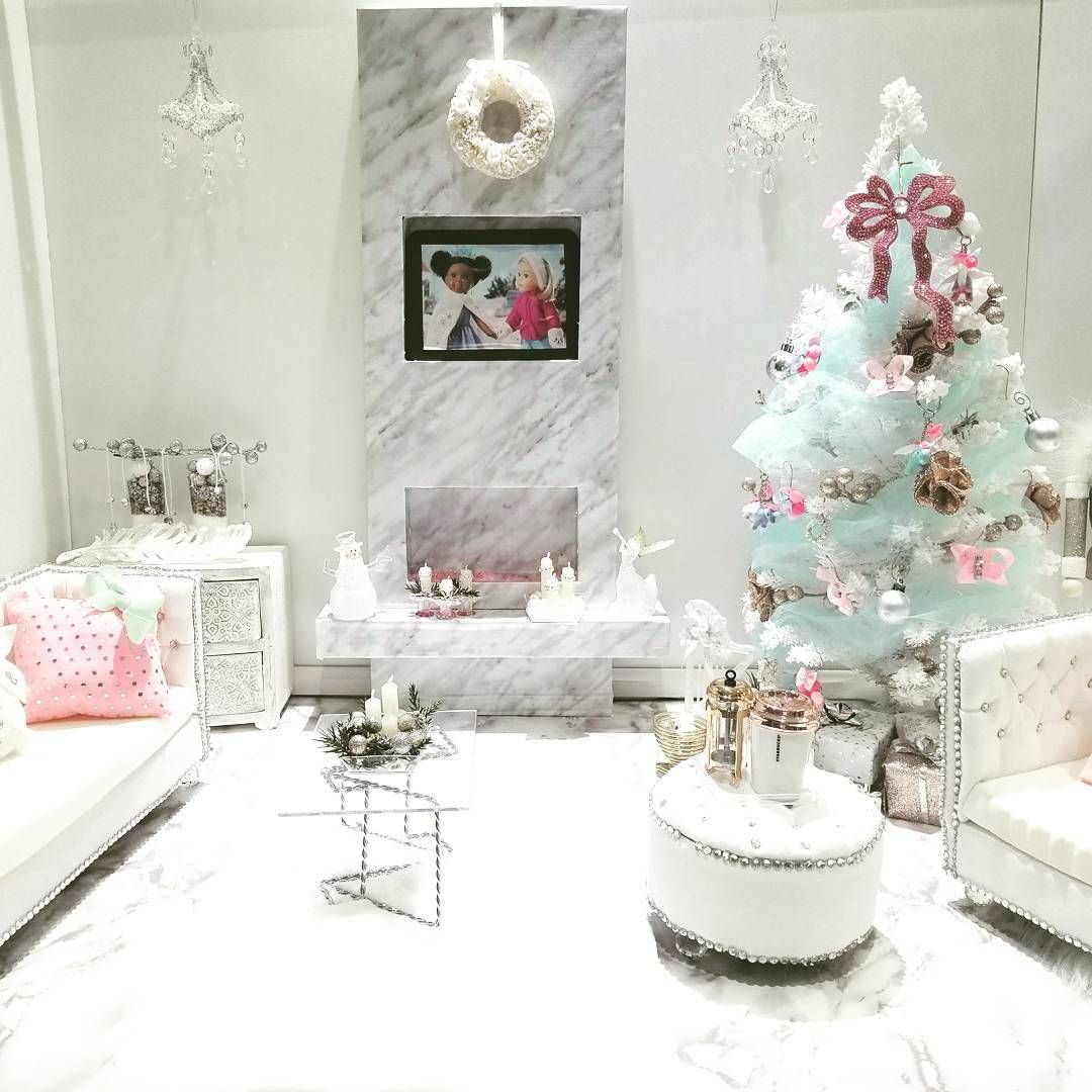 Instagram Photo of this chic Christmas living room set up for their ...