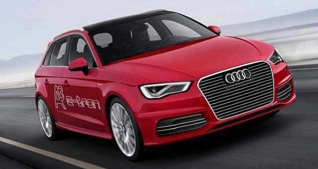 Audi A3 Sportback E Tron: 2013 Geneva Motor Show   Electric Cars Report