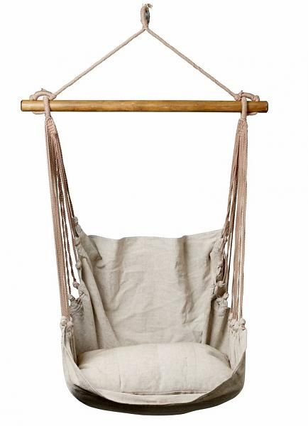 Hammock Chair, Linen   Bloomingville | Wonenmetlef. Oooh, Want This!!