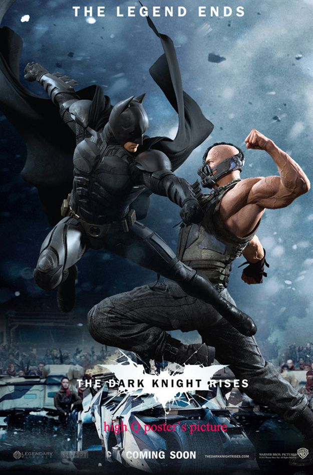 New Promo Posters For The Dark Knight Rises Batman Poster The
