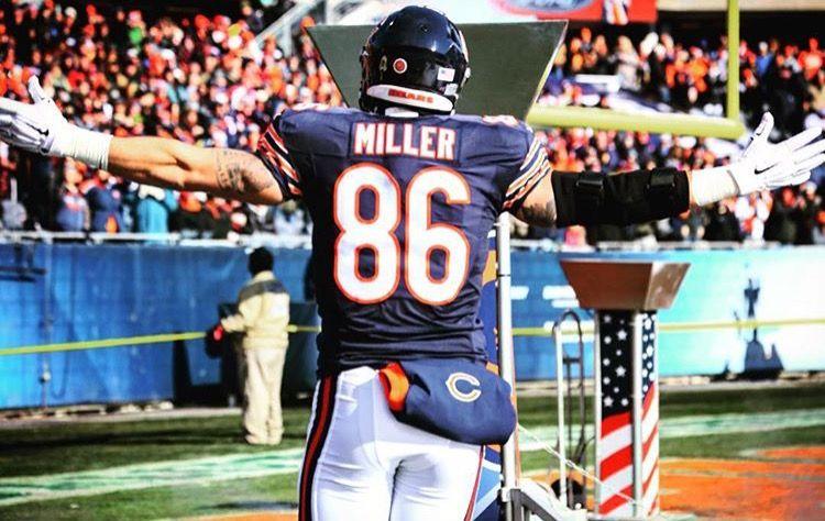 Zach Miller Chicago Bears Bear Cubs Cubs