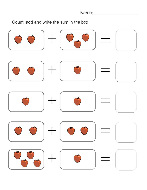 4 4 By Addition Worksheet Kindergarten Worksheets Printable Math Addition Worksheets Free Kindergarten Worksheets Year addition worksheets free