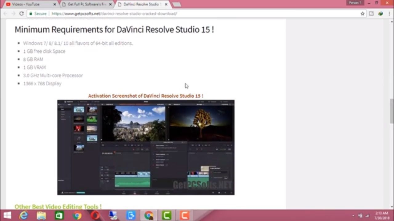 Davinci Resolve Studio 15xx License key For Lifetime For Free - Get