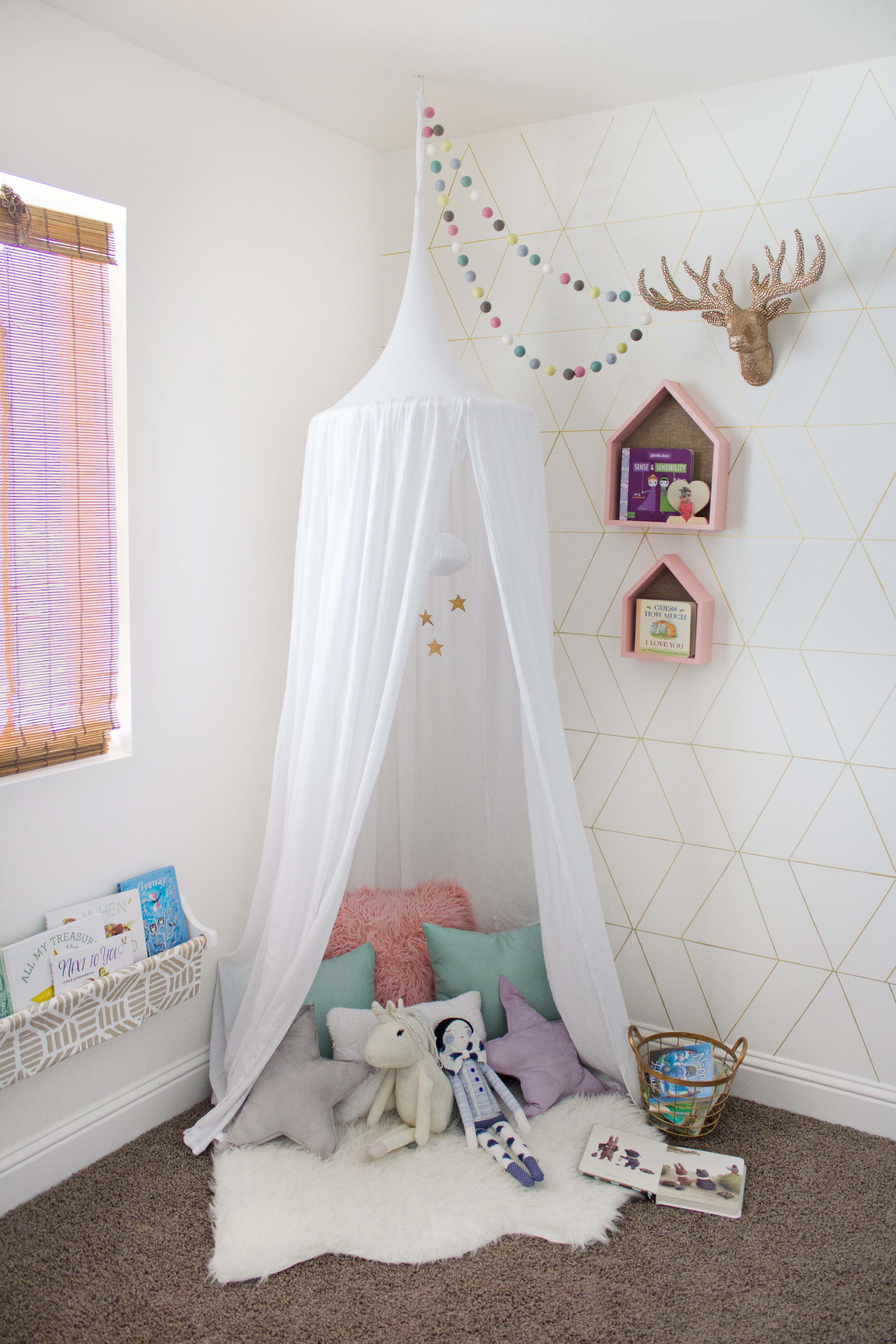 Canopy Book Nook Reveal Toddler Reading Nooks Reading Nook Kids