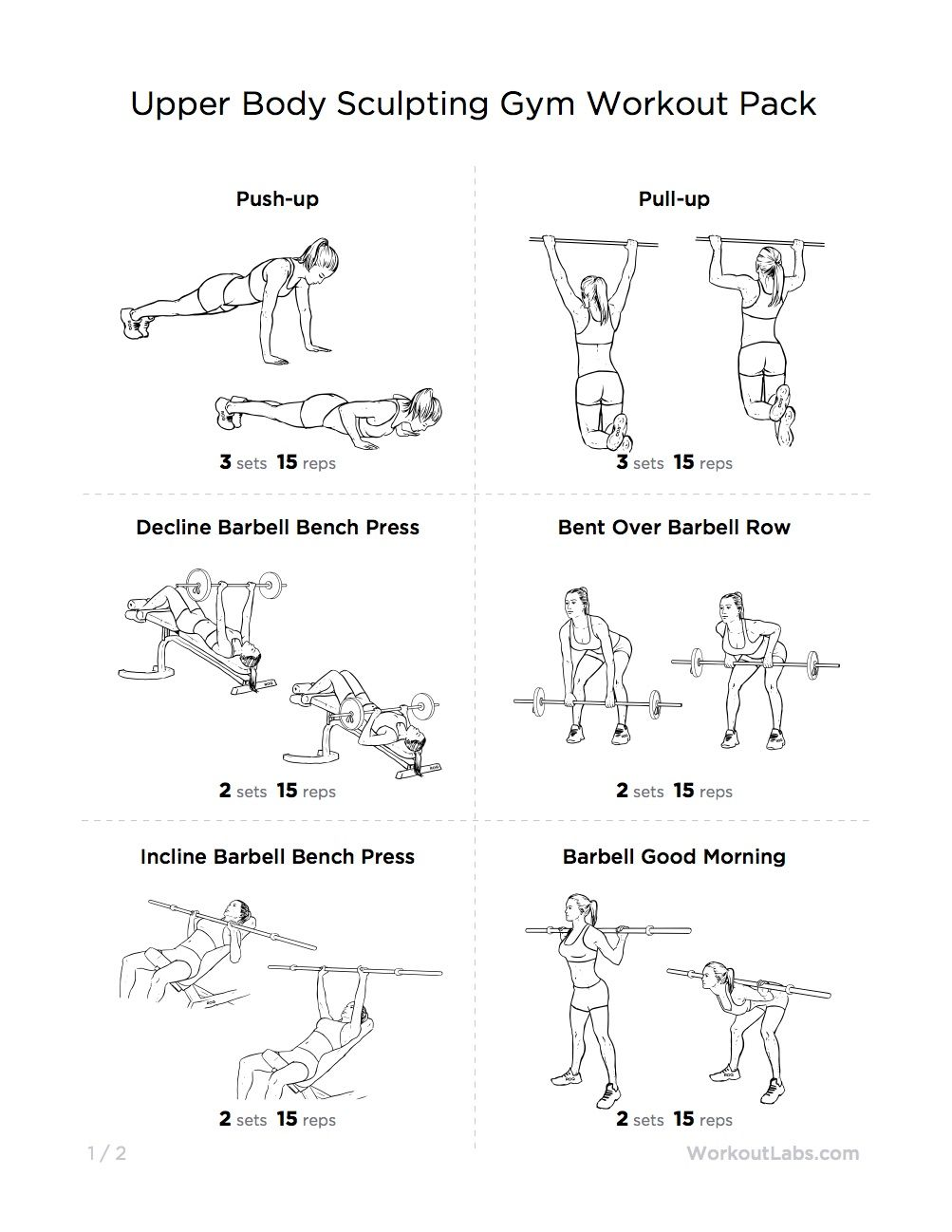 Its Time To Craft That Upper Body Into A Weapon All You Need Is The Right Crafting Tool This Workout