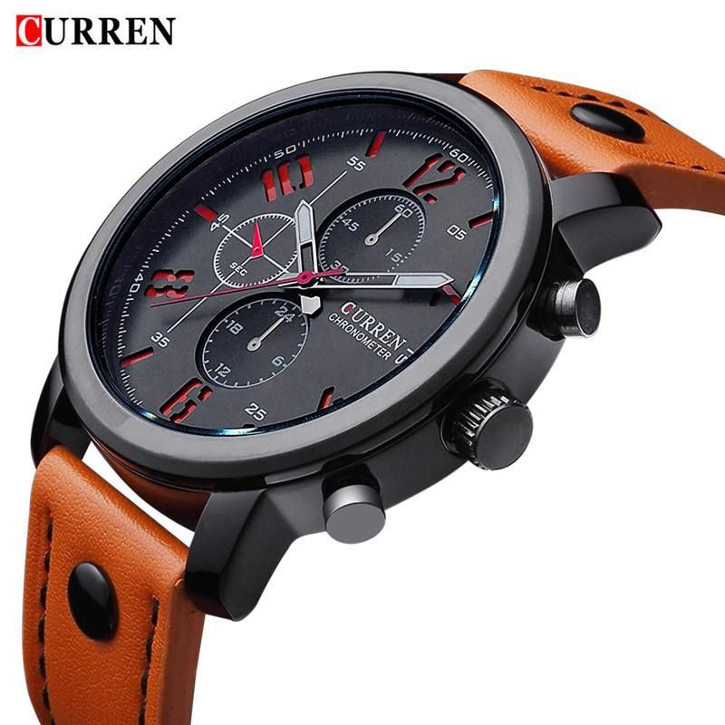 Get This Curren Military Sports Casual Dress Watch For Just 22 68 Free Shipping Not Sold In Stores Be Orange Watches Luxury Watches For Men Wristwatch Men
