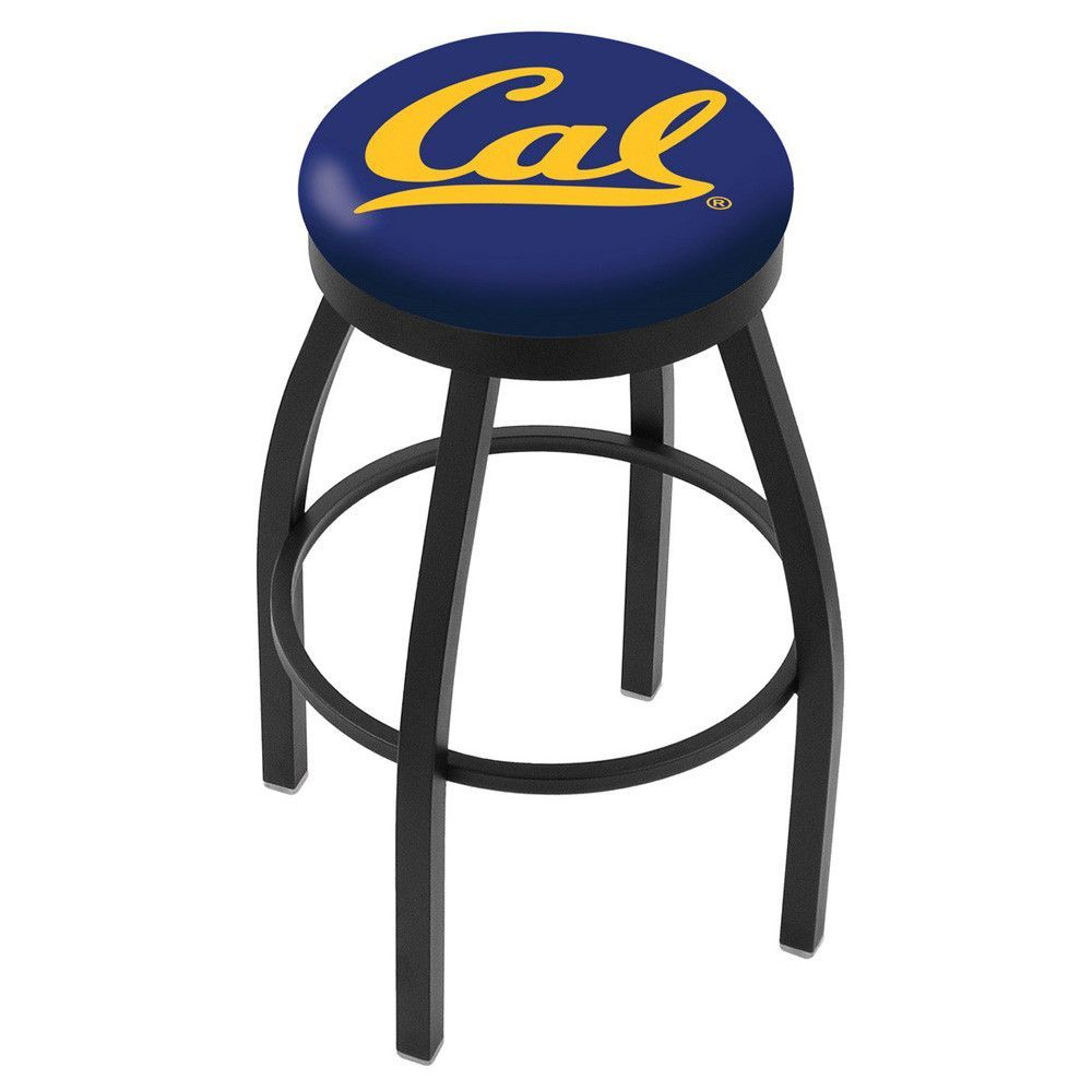 Cal Golden Bears Swivel Bar Stool w/ Accent Ring