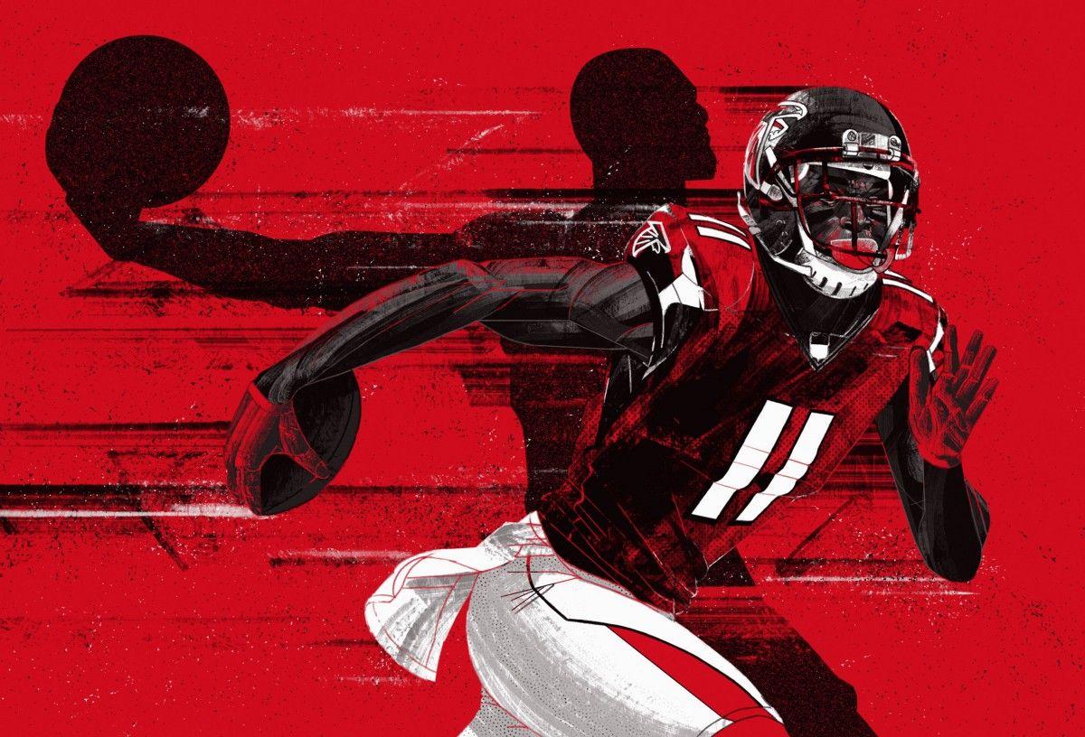 The Nfl S Chosen One Atlanta Falcons Superbowl Julio Jones Nfl Titans
