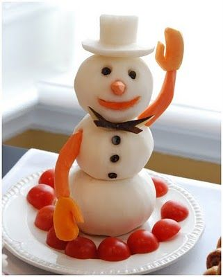 Snowman party ideas! - mom, check out this blog. She has a lot of cute ideas