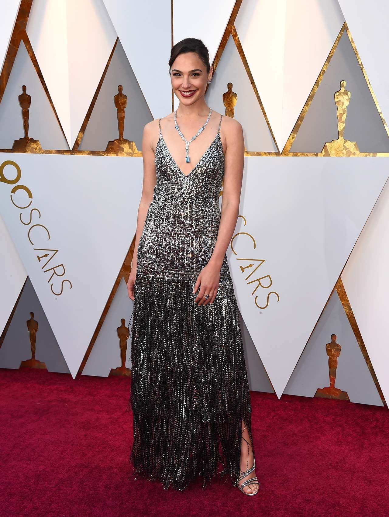 Gal Gadot at the 90th Annual Academy Awards.