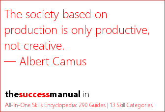 A great quote on real productivity The Success Manual Pinterest