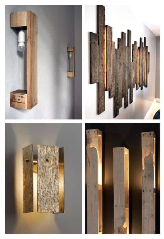 Photo of Recycling Wood Pallets: 10 Ideas to Dress a Wall • 1001 Pallets