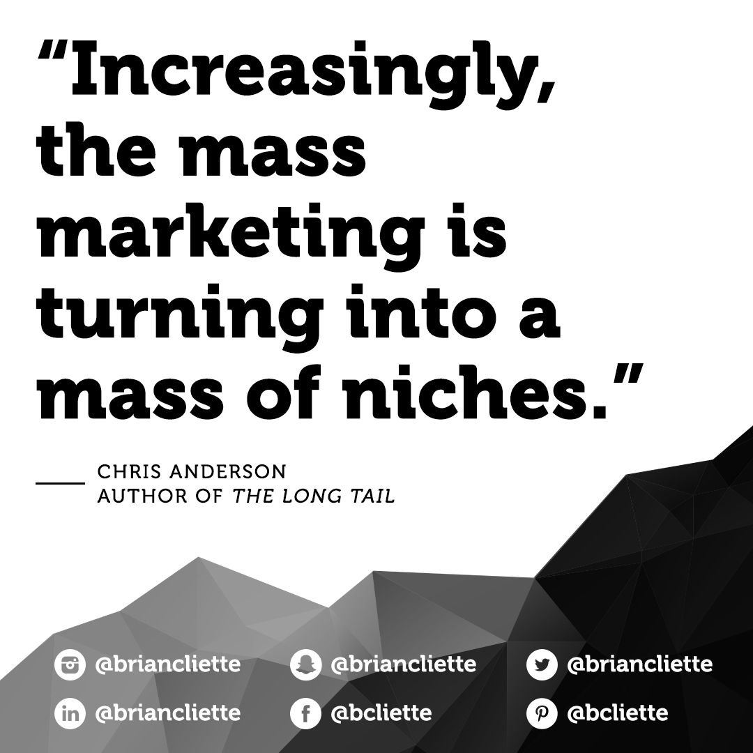 difference between niche and mass marketing