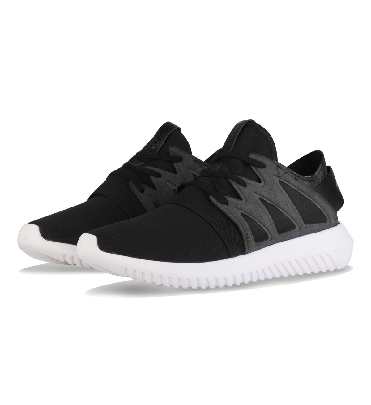 Adidas Originals WMNS Tubular Viral Core Black / Off White - Adidas Womens