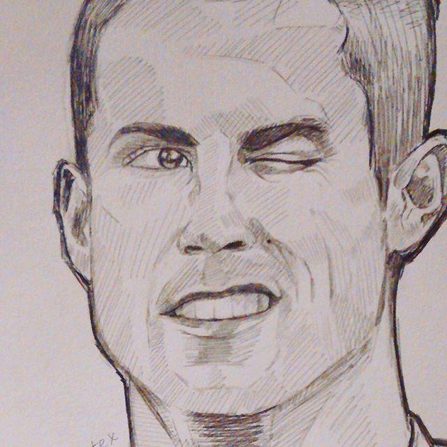 Como Dibujar A Cristiano Ronaldo By Robertoartex Como Dibujar Un Retrato Art Male Sketch Male