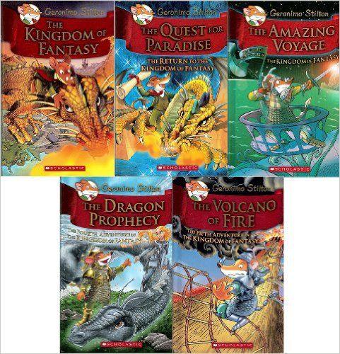 The Dragon Prophecy Geronimo Stilton and the Kingdom of Fantasy #4