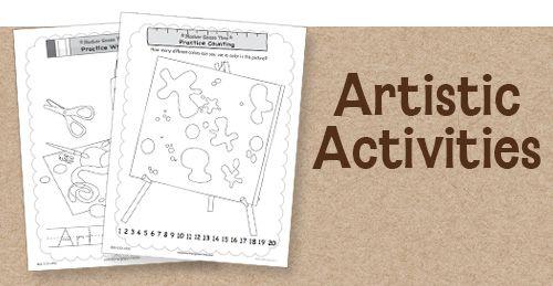 The Art Studio Activities - MOTHER GOOSE TIME