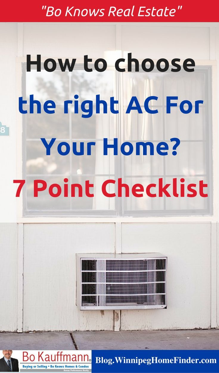 Selecting The Right Air Conditioner For Your Home 7
