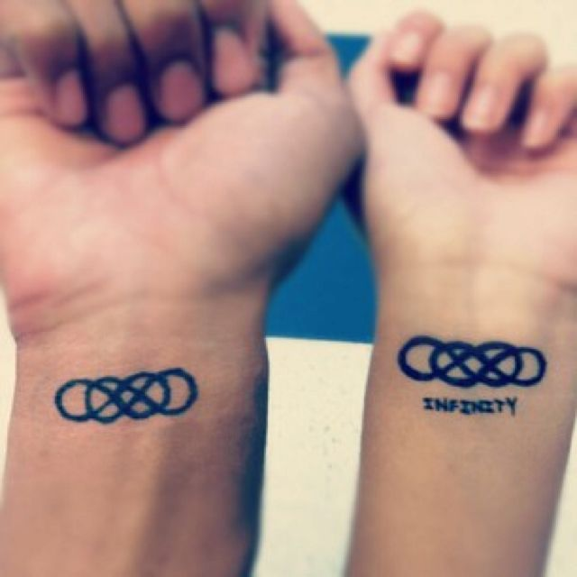 double infinity couple tattoo tatoo ideas tattoo stuff. Black Bedroom Furniture Sets. Home Design Ideas