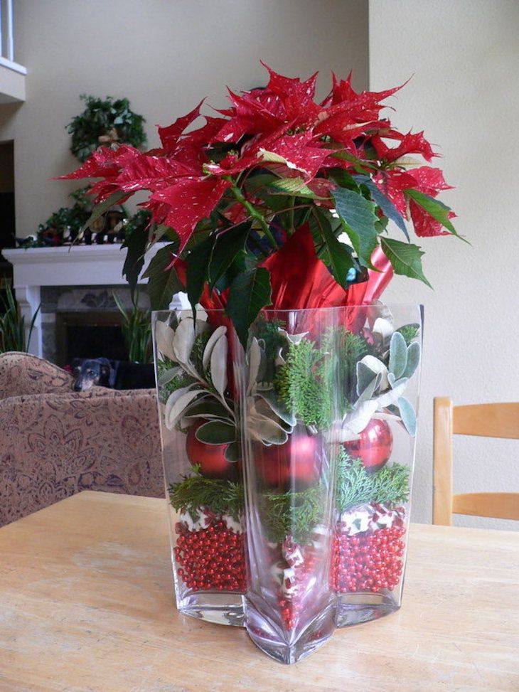 Top most beautiful christmas vase arrangements