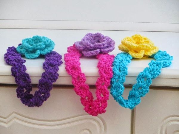 Arianna Headband, Free Crochet Pattern for Spring | Accesorios para ...