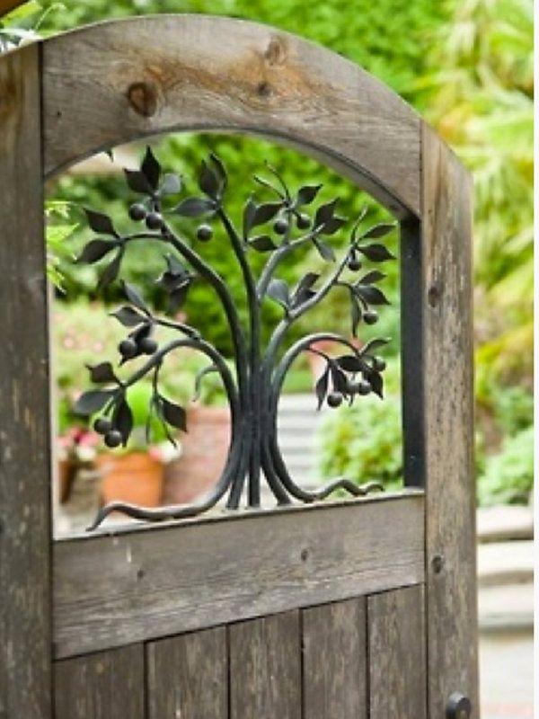 Puertas de jardín: entrada al paraíso | Puertas de jardín, Entrar y ...