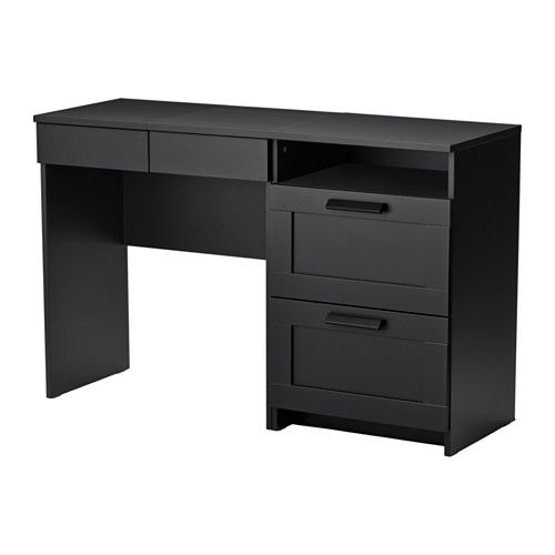 brimnes coiffeuse commode 2 tiroirs ikea miroir int gr avec esapce de rangement dissimul. Black Bedroom Furniture Sets. Home Design Ideas