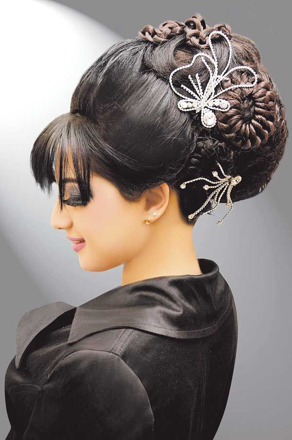 1950 HAIR STYLES IMAGES | 1950s Inspired Formal Hairstyle 1950s ...