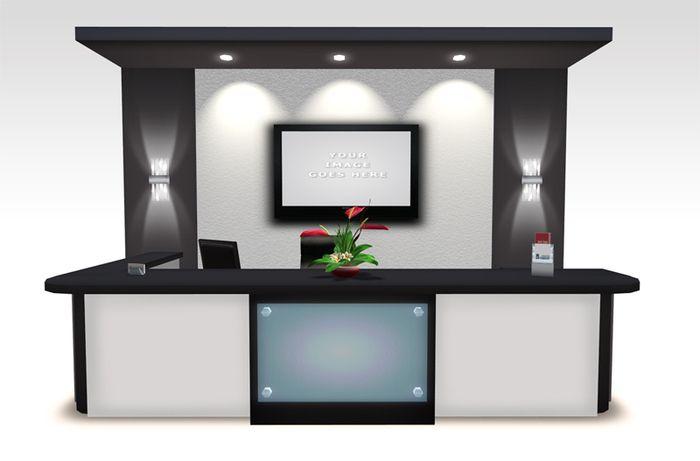 Modern Office Furniture Paragon Reception Desk Copy Modify Transfer