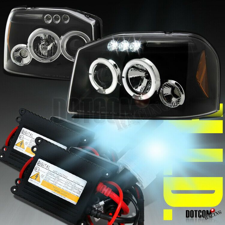 Ad Ebay Slim Hid Kit 2001 2004 Fit Nissan Frontier Projector Headlights Black Clear Pair 2004 Nissan Frontier Nissan Frontier Projector Headlights