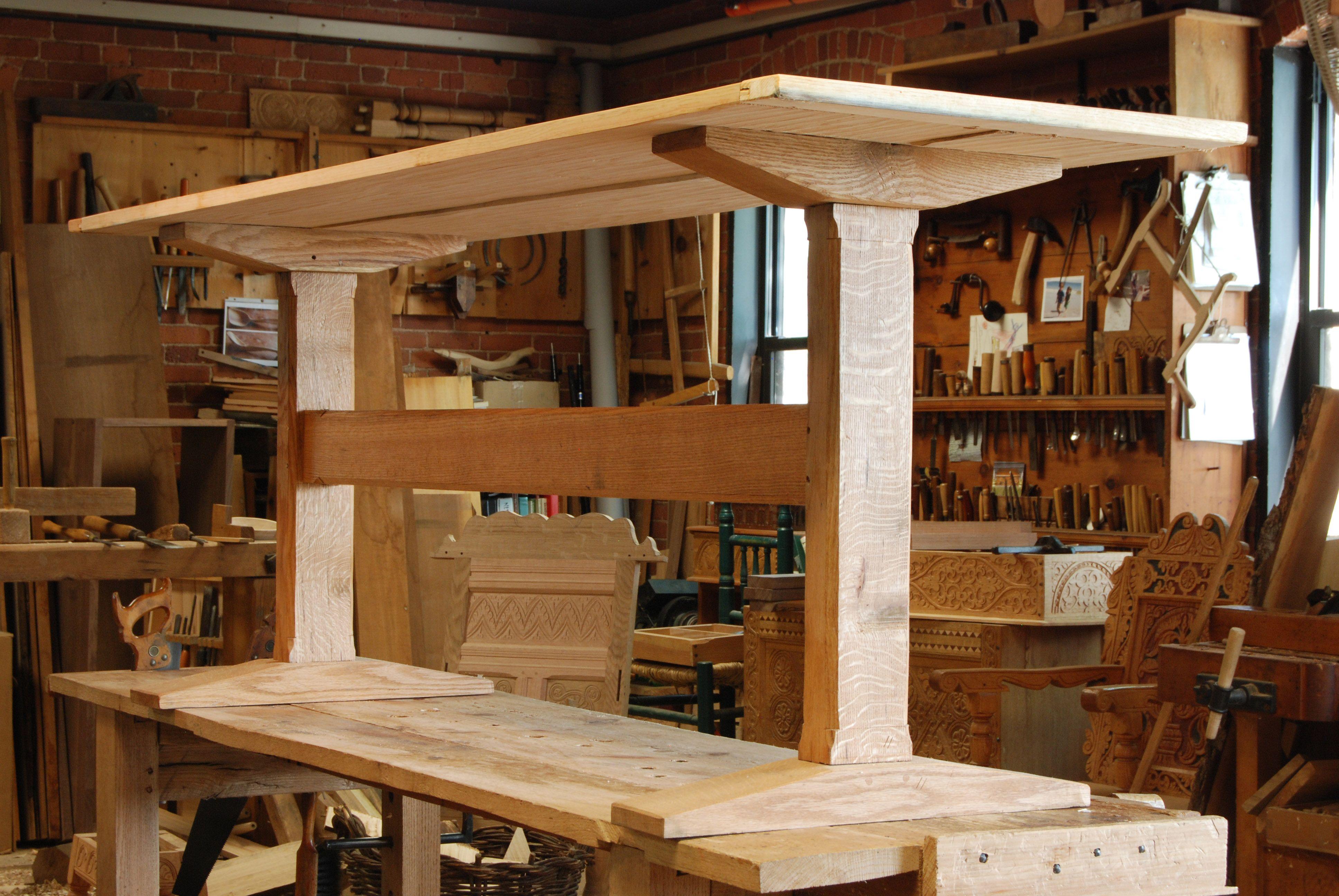 How To Build A Trestle Table Unique Hardscape Design
