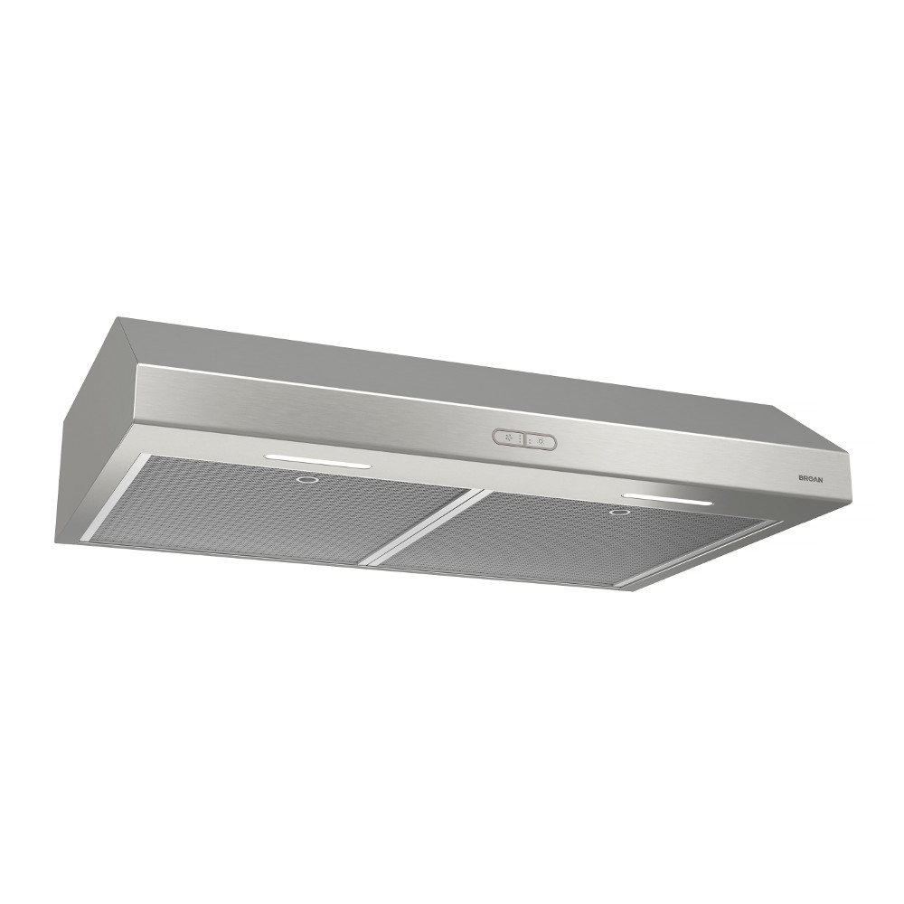 Bcdf136ss Glacier Deluxe 36 Inch Convertible Under Cabinet Range Hood 300 Cfm Stainless Steel Broan Range Hood Light Bulb Wattage