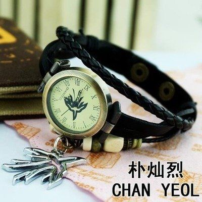 Want it! Chanyeol Vintage Watch ♡