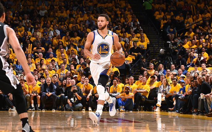 Download Wallpapers Golden State Warriors, Match, Stephen