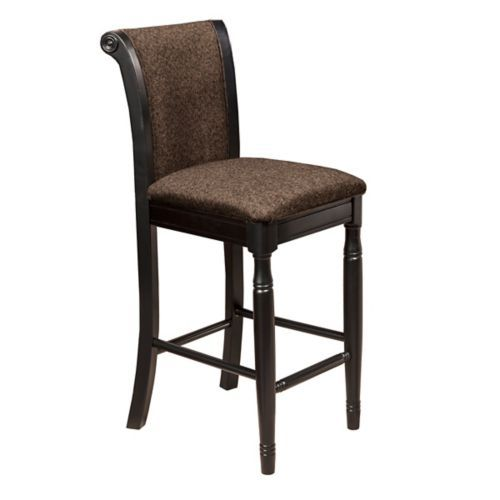 Hooker Furniture Windward Raffiaarm Dining Chair In Light: Brown Chenille Upholstered Bar Stool