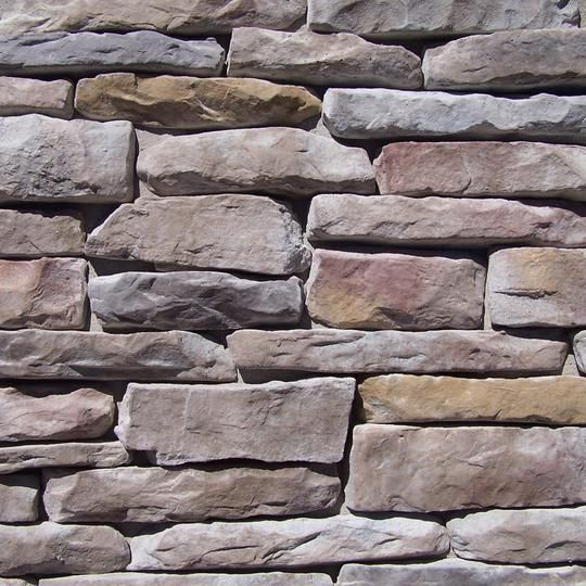 Brown Rock Fireplace Accent Wall Color: Ledge Stone - Rustic In 2019