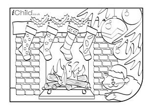 Christmas Colouring In Picture Christmas Coloring Pages Christmas Colors Christmas Crafts For Kids