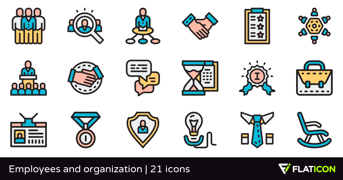21 Free Vector Icons Of Employees And Organization Designed By Freepik Vector Free Organization Freepik