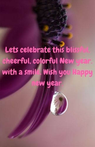 Happy New Year Sms 2018 For Friends And Family. May God Paint The Canvas Of  Your Life With The Most Beautiful Colors And Sprinkle, Peace , Luck Sucu2026