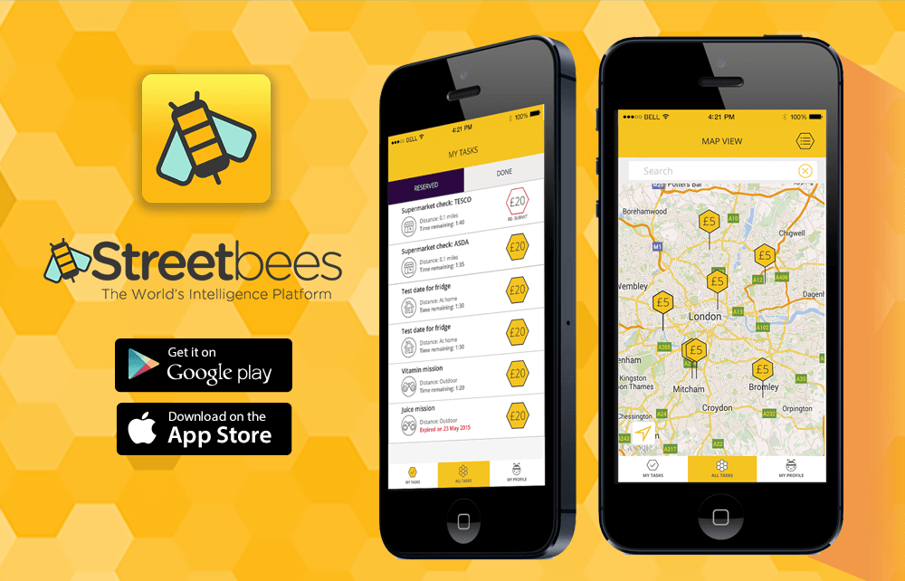 Streetbees Earn Money by doing simple tasks on Your