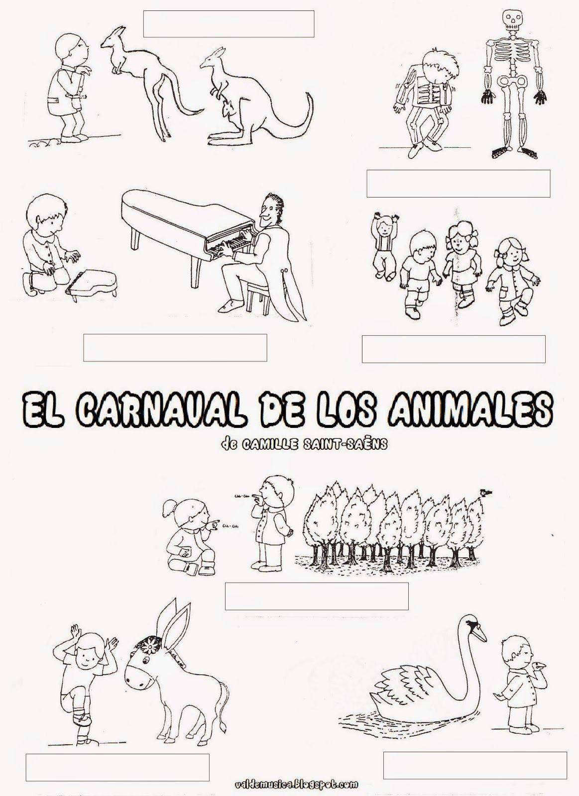 El Carnaval De Los Animales De Camille Saint Saens
