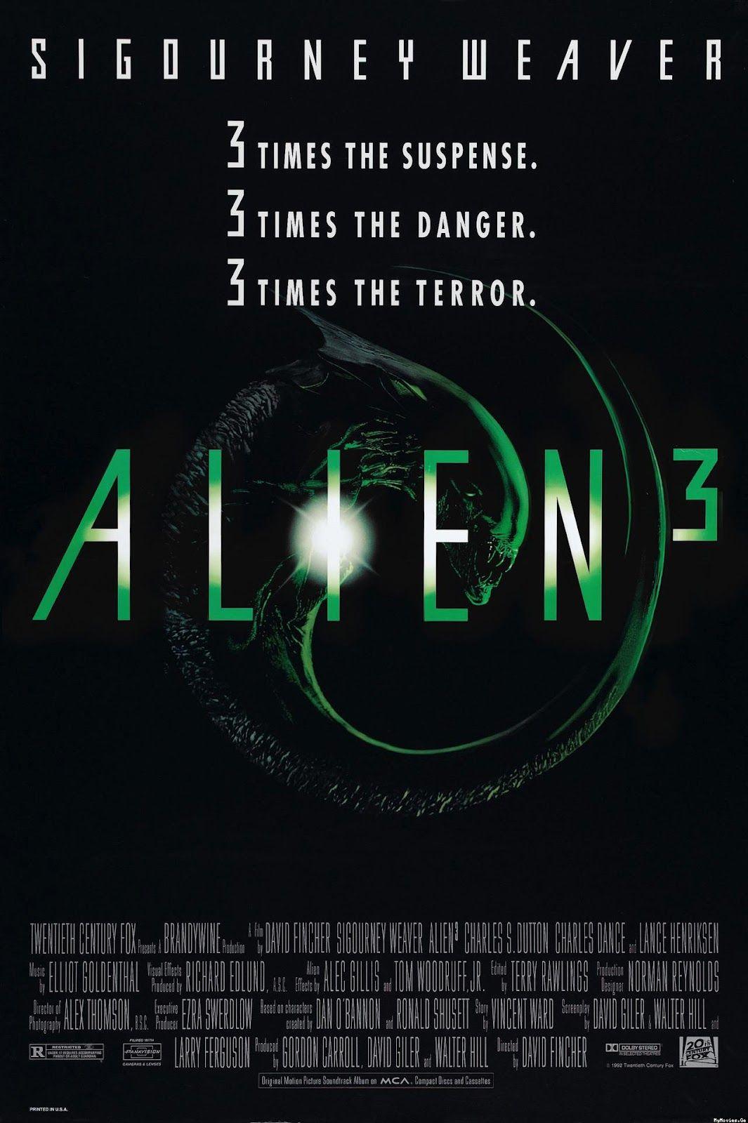 Alien 3 Premiered 22 May 1992