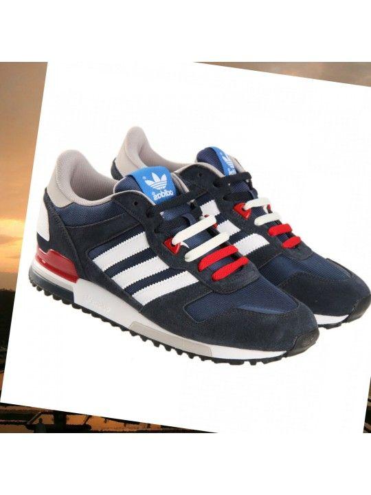 revendeur b92cf 82a9c Adidas Originals ZX 700 Femmes W - Sneakers Laag - bleu ...