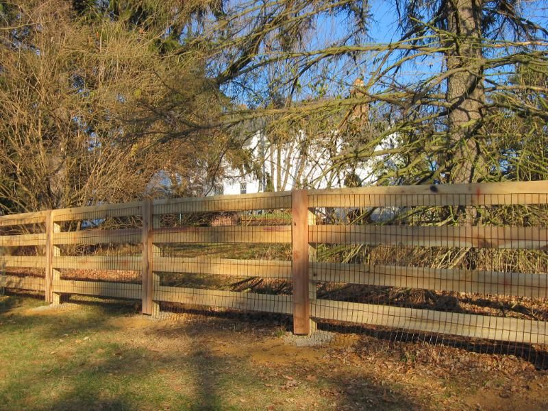Kentucky Post And Board Fence Fence Fencing Companies Outdoor Gardens
